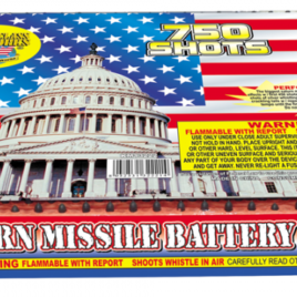 750 Shot Saturn Missile Battery