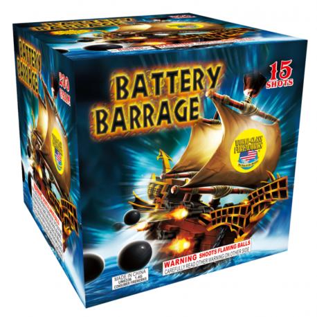 Battery-Barrage