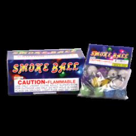 Color smoke ball